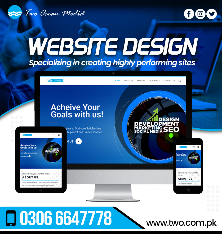 Web Designers in Sialkot
